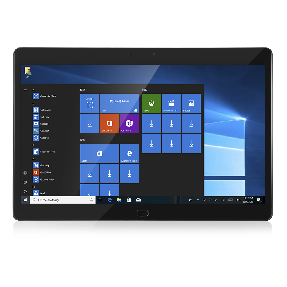Chuwi CoreBook 2 In 1 Tablet PC 13.3'' Windows 10 Intel Core Dual Core 8GB RAM 128GB SSD ROM Dual WiFi Double Cameras Type-C планшетный пк chuwi vi8 2 32 rom windows 8 1 android 4 4 intel z3735f 8