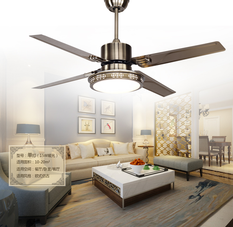 Led ceiling fan lights restaurant bedrooms modern fan lamps ceiling led ceiling fan lights restaurant bedrooms modern fan lamps ceiling fans remote control simple fashion stainless iron leaves in ceiling fans from lights mozeypictures Choice Image
