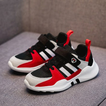 Summer boy shoes 2019 new spring models boy big boy breathable mesh face summer children's sports shoes