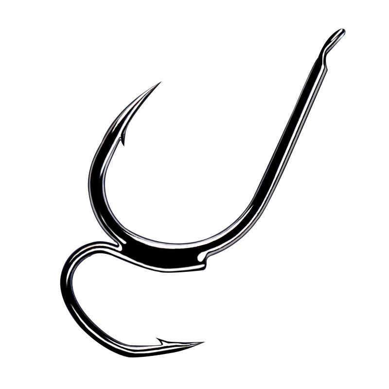 9pcs/pack Specially designed Anti-decoupling Welded Fishhook barbed Fishing hooks Fishing tackle
