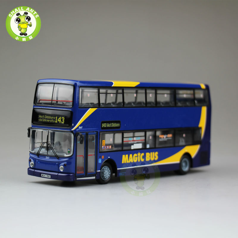 1:76 Scale Diecast Bus Model Alexander Dennis Trident ALX400,Magic Bus,UKBUS1049 1 38 china gold dragon bus models xml6122 diecast bus model gold