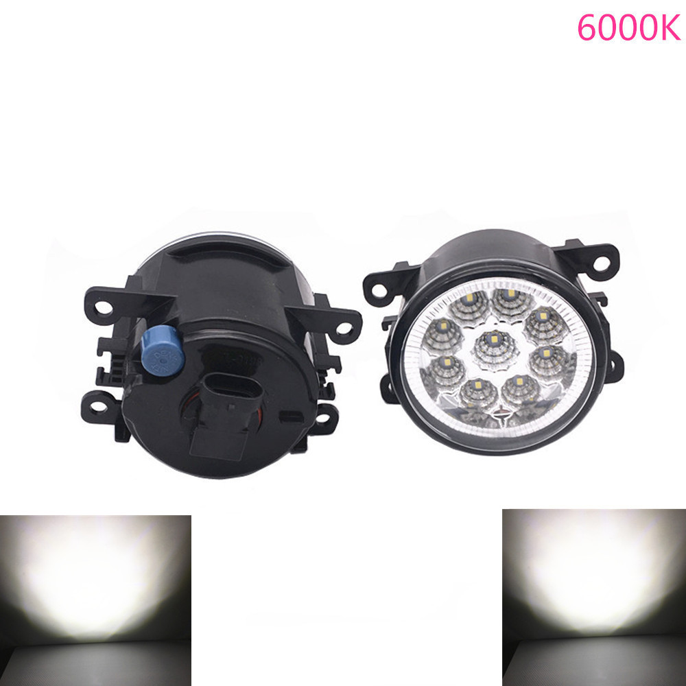 2PCS H11 12V 55W Car Styling Halog Fog Lamps LED Fog Lamps For <font><b>Peugeot</b></font> <font><b>407</b></font> <font><b>Coupe</b></font> 6C 2005-2011 For 607 Saloon 9D 9U 2000-2006 image