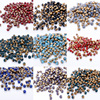 200pcs 4mm Round Shape Crystal Beads Glass Beads Loose Spacer Bead for DIY Jewelry Making U pick color