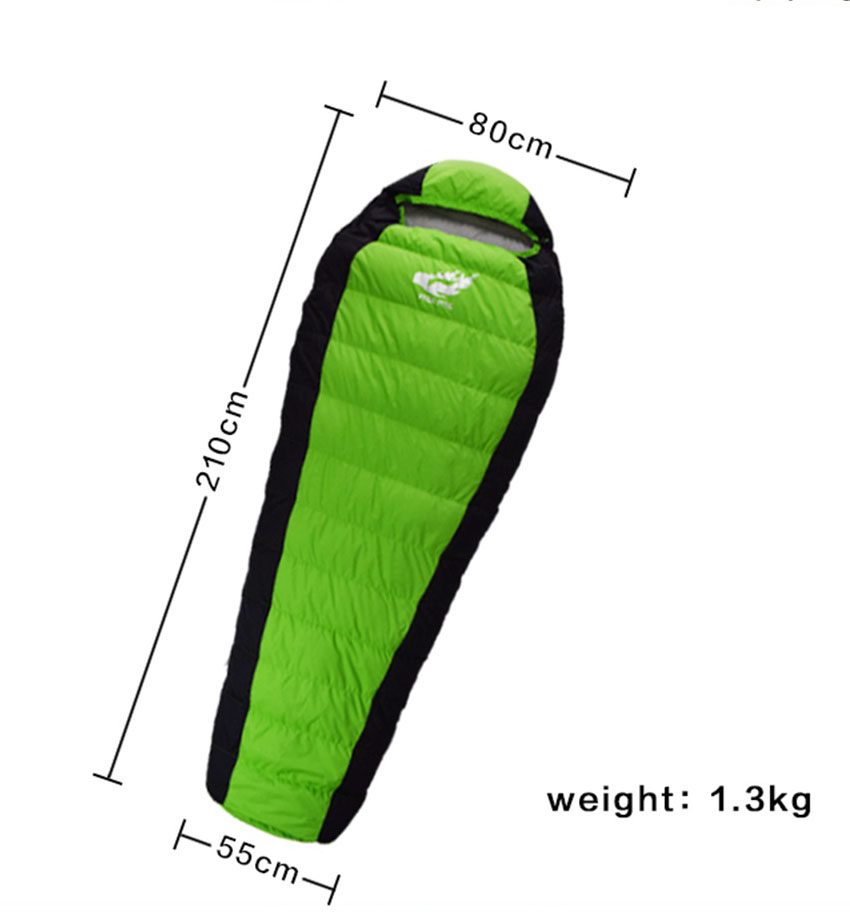 Winter Down Sleeping Bag for camping, Winter Sleeping Bag Ultralight, Duck Down Sleeping Bag Winter, camping sleeping bag gazelle duck down winter camping adult sleeping bag waterproof three seasons spring autumn winter sleeping gazelle sb13