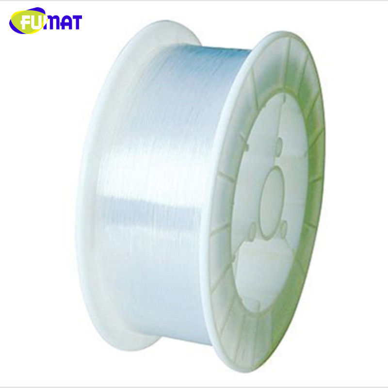 FUMAT Sparkle End Glow 1500m/Roll 1mm diameter PMMA Plastic Fiber Optics Cable Ceiling Party For Decoration Lighting Strands DIY ...