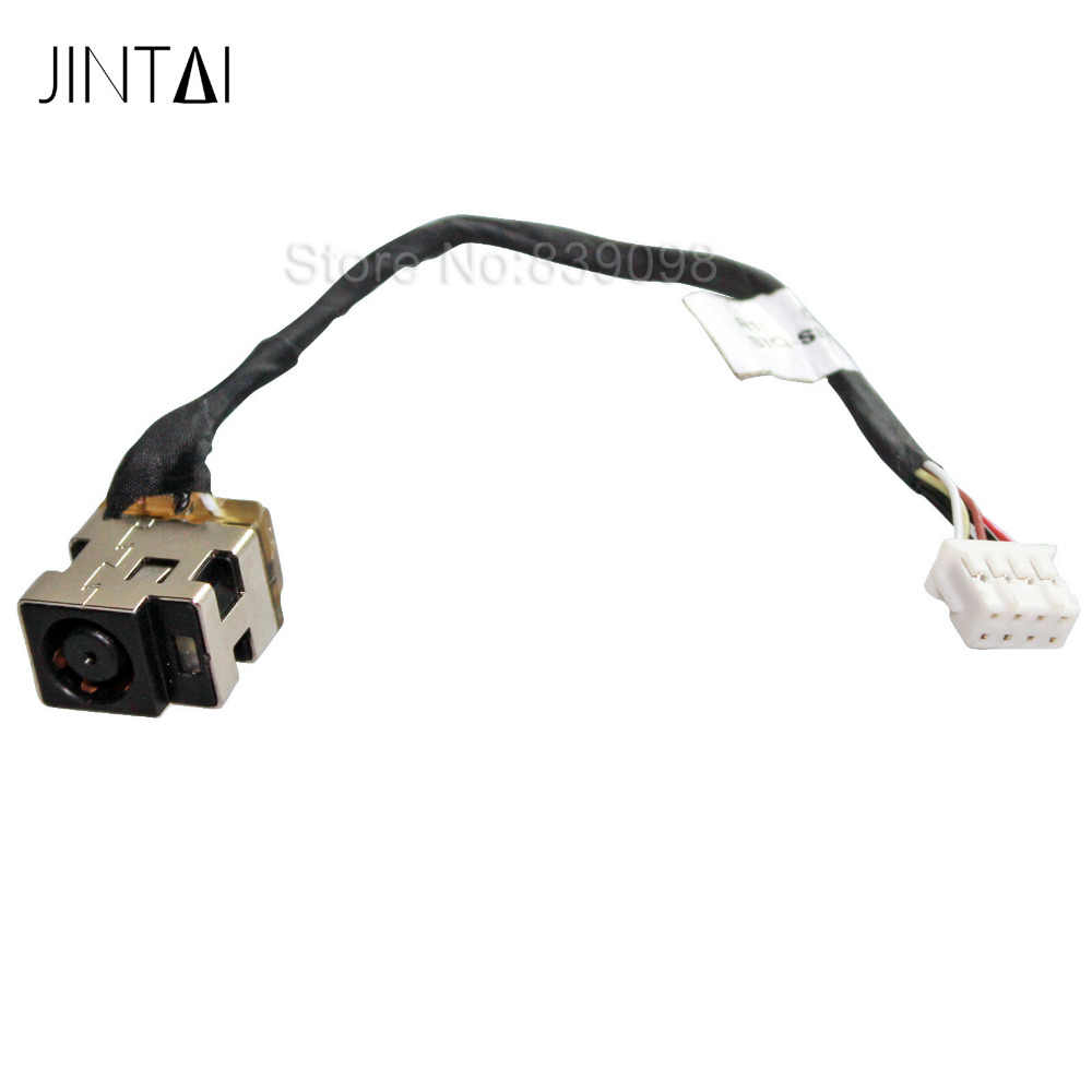 GinTai DC Jack Power Harness Cable Socket Plug Charging Port Replacement for HP Chromebook 15-ab224ne 15-ab229tu 15-ab230tu