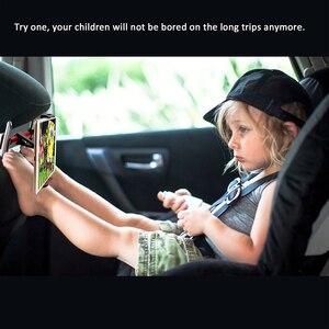 Image 2 - Support universel pour tablette de voiture, pour Ipad 2/3/4 Air Pro 7 11 pouces, fixation à larrière de siège de voiture, Rotation 360