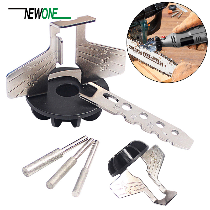 Saw Sharpening Attachment Sharpener Guide Drill Adapter Dremel Style Drill Rotary Mini Drill Power Tool Accessories Set
