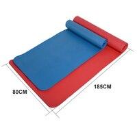 10MM 15MM 185X80CM NBR Non slip Yoga Mats For Fitness Brand Pilates Pads Sport Mats Outdoor Camping Pads Picnic Mats