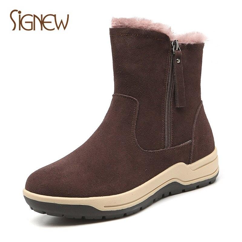 Con Tubo Nuevo 2018 Corto Botas Xinnuo Black gray Madre camel De Cálido Zapatos Mujeres Noreste Nieve Franela brown Engrosamiento Algodón Plana Invierno PZZanSq6