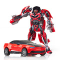 Edição limitada!!! Autobot Bumblebee deformação Robô Modelo de Ação Figuras de Brinquedo Clássico Presente Carro Menino