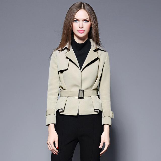 Trench Coat Venda Quente Completo Burderry Mulheres A Estação Europeia 2016 Inverno Nova Moda feminina Gola Terno E Blusa Fina casaco