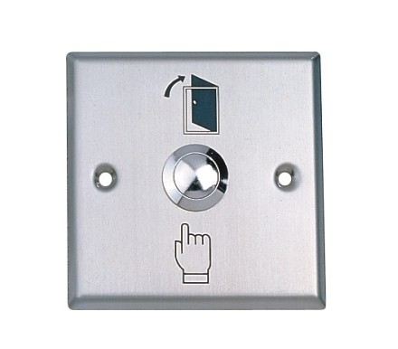 Exit Button For Access Control ,Stainless Steel ,Dimensions: 86X86 Mm, Wholesale,min:1pcs