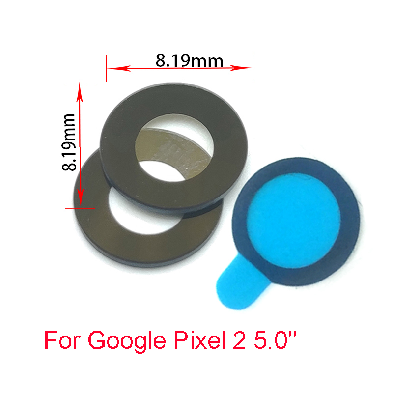 20 Pcs/lot American New Back Rear Camera Glass Lens For Google Pixel 2 Xl 5.0 6.0 Mobile Phone Repair Parts Good For Antipyretic And Throat Soother