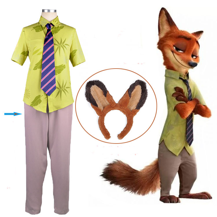 Buy nick wilde costume and get free shipping on AliExpress.com