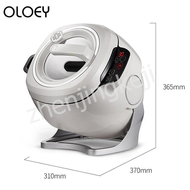 Ev Aletleri'ten Sıcak Tabaklar'de 220V Pişirme Makinesi mutfak Akıllı Dokunmatik Ekran Zamanlama Davul Tipi Çok fonksiyonlu Ticari Pişirme Makineleri 2000W title=