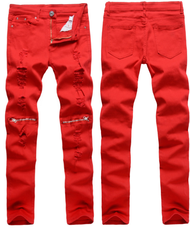 Compare Prices on Red Stretch Skinny Jeans- Online Shopping/Buy ...