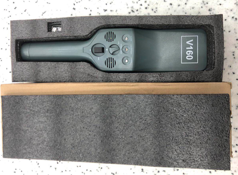 V160 Long Detection Distance Handheld Metal Probe Bar Metal Detector For Station Airport Safety Inspection