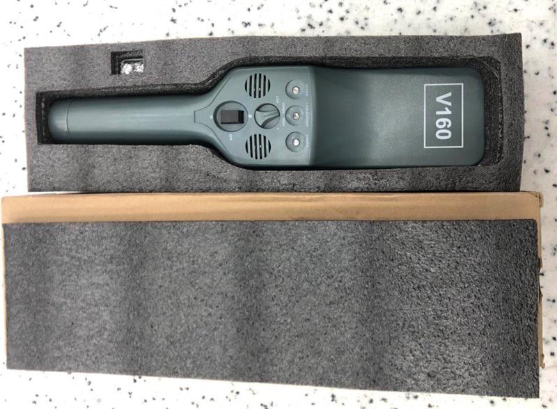 V160 Long detection distance handheld metal probe bar metal detector for station airport safety inspectionV160 Long detection distance handheld metal probe bar metal detector for station airport safety inspection