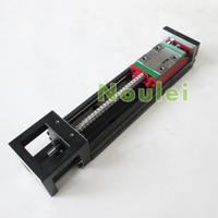1 Set HIWIN KK60 Industrial Robot 210mm Stroke KK6005P 300A1 F4 Stepper Motor NEMA23 Size Sliding