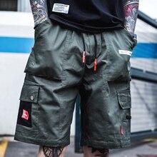 Man Military Camouflage Short Pants Streetwear pocket Cargo