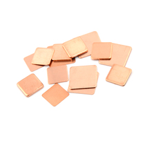 10PCS/LOT Laptop Copper Sheet Plate Strip Shim Thermal Pad H