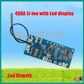 4S 8A junta de protección de la batería Li-ion 14.8 v 18650 DIY BMS PCM bms pcm para paquete de li-ion de la célula de la batería lipo con pantalla LED