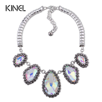 Pearl Jewelry Set 2014 Korean Imitation Pearls Evening Gown Starry Rhinestone Necklace Earrings African Beads Jewelry