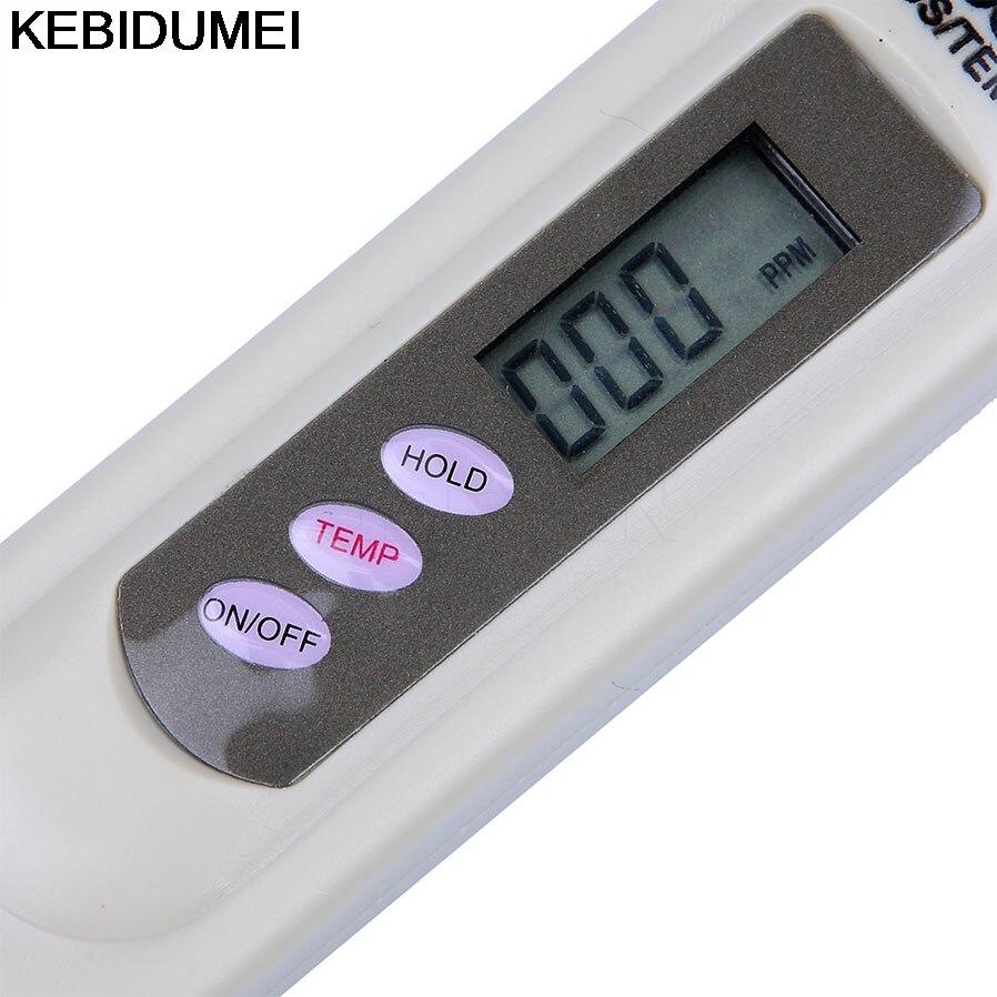 1 Stück Tragbare Tds Meter Stift Tds Tester Digitale Wasser Meter Filter Mess Wasser Qualität Reinheit Tester 0-9990ppm Elegantes Und Robustes Paket