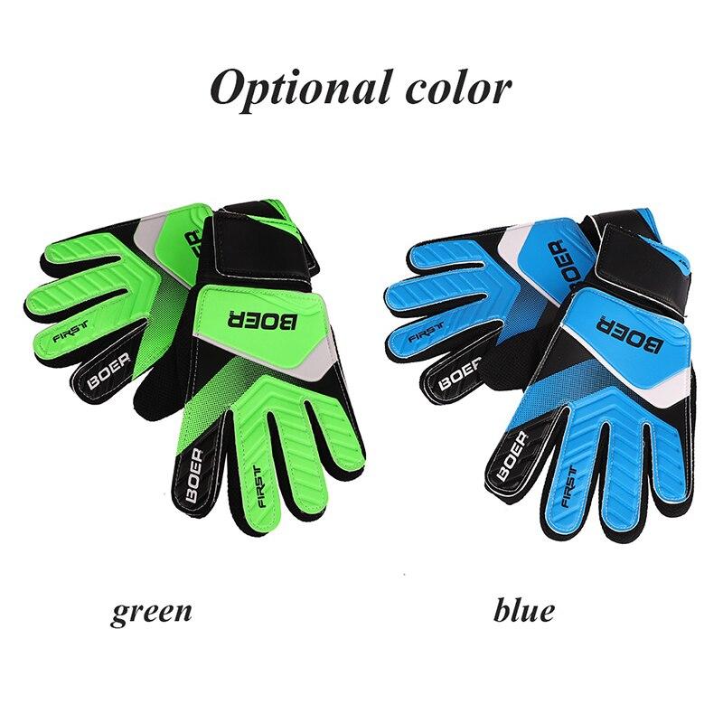 Su persona tiene que asegurarse sobre que antes de sobornar un Nuevos niños  Wearable guantes antideslizante guantes de portero de fútbol profesional  doble ... 2b4c12e231f