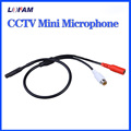 LOFAM Audio pick up CCTV Microphone Wide Range Camera Mic Audio Mini Microphone for CCTV Security DVR