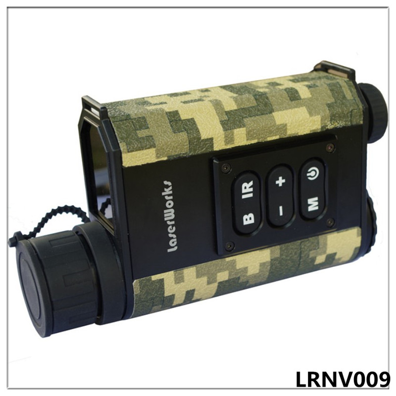 Night vision rangefinder monocular night vision infrared telescope hunting night measure height speed laser meter detective 6x цена и фото