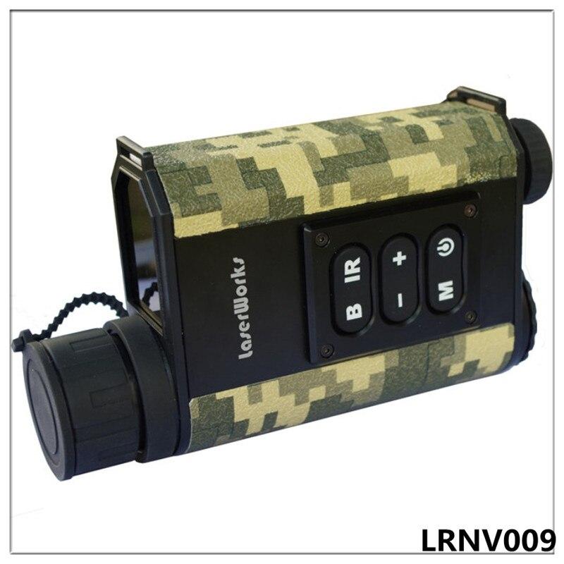Nuit vision télémètre monoculaire de vision nocturne infrarouge télescope chasse nuit mesure hauteur vitesse laser mètre détective 6x