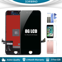 AAA Quality 4.7 inch Front LCD Screen For iPhone 7 8 Plus LCD Display Digitizer Touch Screen Replacement Assembly цена