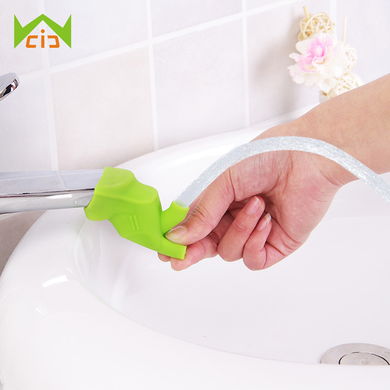 WCIC Faucet Extender Baby Tubs Children Kids Washing Hands Faucet Chute Extender Bathroo ...