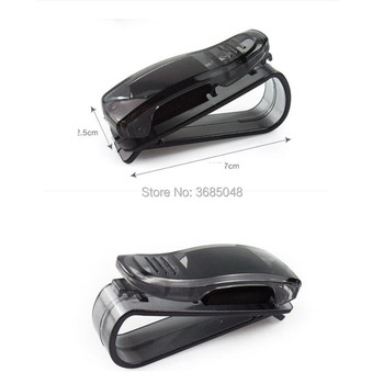 Car Glasses Holder Auto Vehicle Visor Sunglass FOR peugeot 2008 208 renault clio ford fiesta citroen berlingo audi a4 b9 image