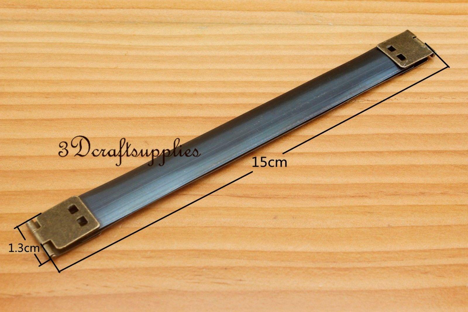 15 cm metal frame internal Flex purse frame Flex frame Anti bronze D72