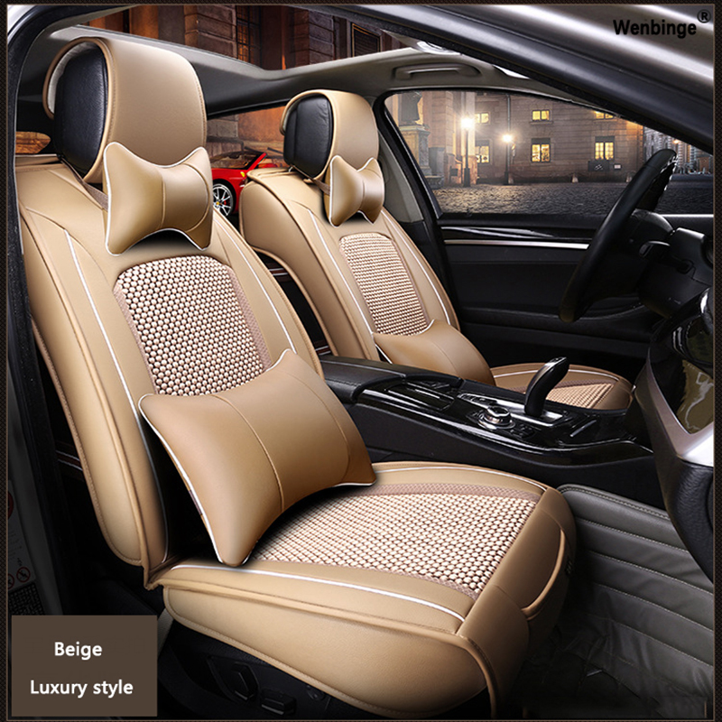 High quality Leather car seat cover for HUMMER H2 H3 automobiles accessories car styling