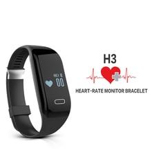 Betreasure H3 умный Браслет Bluetooth 4.0 сердечного ритма Мониторы активности Фитнес трекер Waterpoof умный Браслет для смартфонов