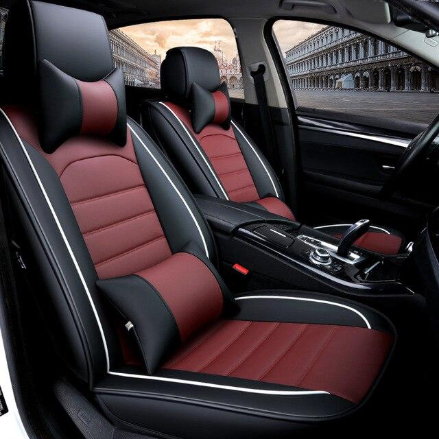 Full Set Car Seat Covers For Hyundai Kona 2018 Breathable Comfortable 99