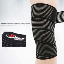 1 pcs Multifunctional Wound Elastic Bandage, Black Strong Sports Self Adhesion Bandage Protector