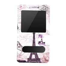 Fashion PU Cartoon Luxury Magnetic clasp Stand Holster Flip Leather Back Cover Case For Oppo A37 Snapdragon