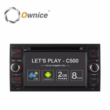 Ownice C500 Android Gps Car DVD Multimedia Video Player For Ford Focus II Galaxy C-MAX S-Max Fiesta Transit Mondeo Fusion Kuga