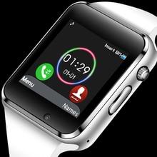 цена на Men Women Smart Watch Bluetooth Watch Support SIM card Sport Pedometer Music Player Smartwatch