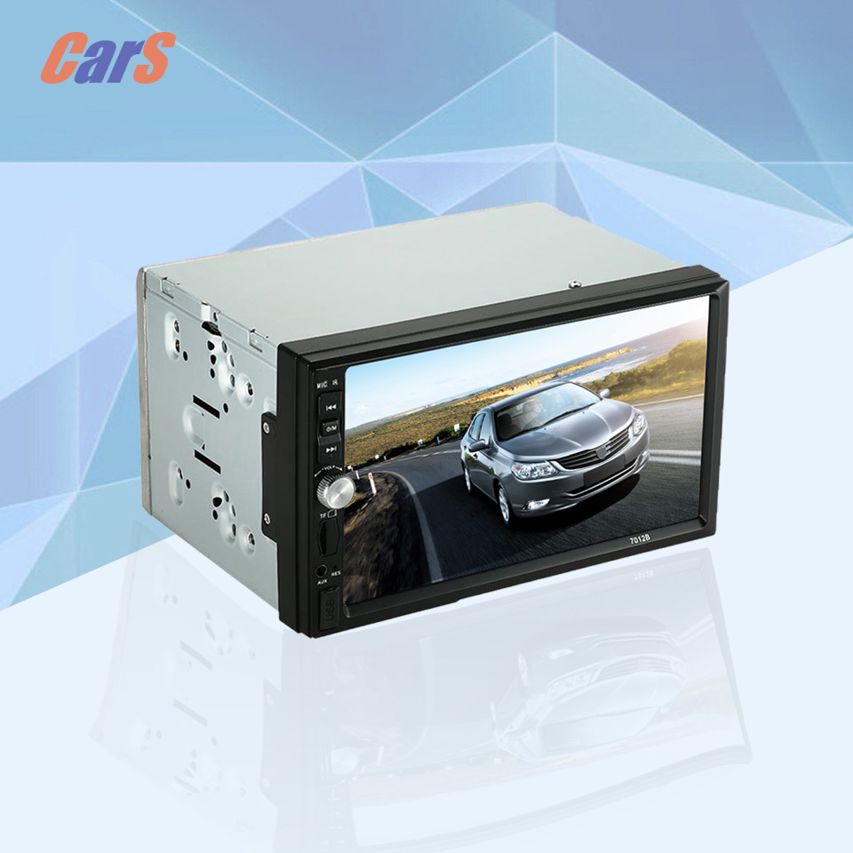 7 inch 2 Din HD Car MP5 Players Car Rear View Camera In Dash 12V Stereo FM Radio Player Support Bluetooth USB SD russia