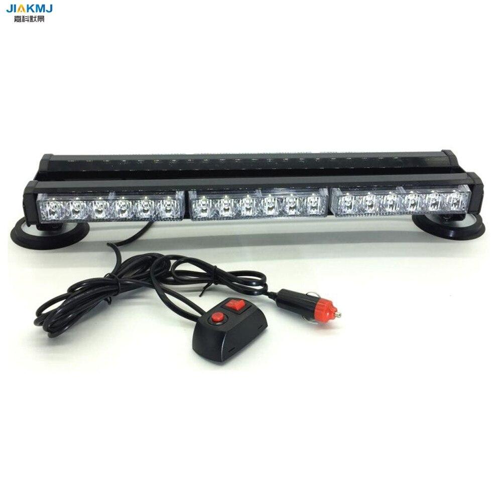 3 Watt Beiden seiten langes licht 36 LED DC12V lange Auto dach Notfall Warnung LightsEmergency Strobe blinklicht Rettungsfahrzeug lampe - 3