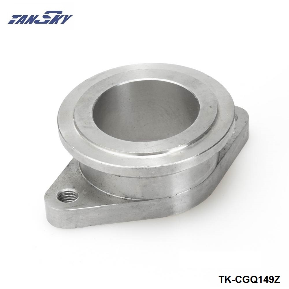Acero inoxidable 38mm 2 pernos a 44mm v-band MV-R vband Wastegate adaptador brida TK-CGQ149Z