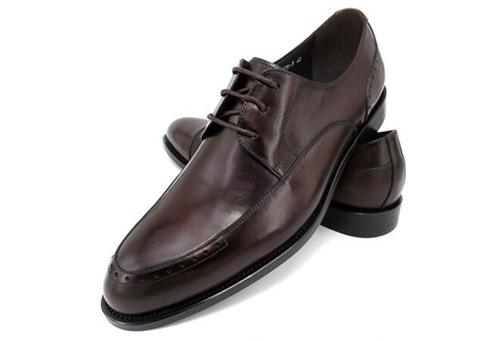 Men retro dress leather shoes square toe lace -up casual handmade shoes  increased mixed color carved brogue shoes Men retro dress leather shoes square toe lace -up casual handmade shoes  increased mixed color carved brogue shoes