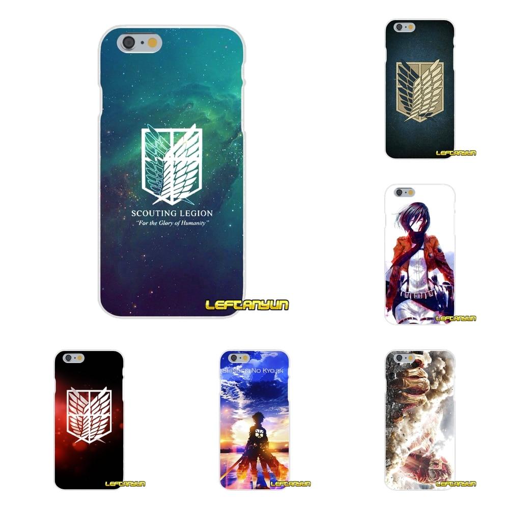 Attack On Titan Anime Soft Silicone phone Case For Xiaomi Redmi 2 4 3 3S Pro Mi3 Mi4 Mi4C Mi5S Mi Max Note 2 3 4