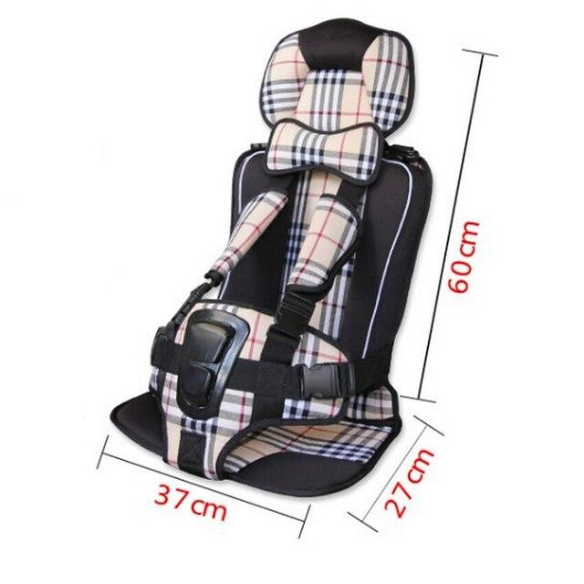 Топ Продаж Портативный Сиденья Автокресла Безопасность, Большой Размер 7 Цвета Автокресло Стулья Для Детей в Автомобиле, Авто Подушки Сиденья Booster сиденья